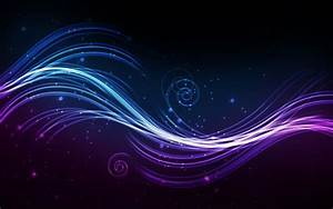 Purple Blue Abstract Black High Definition HD Wallpapers ...
