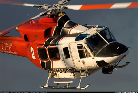 Bell 412  Los Angeles City Fire Department Aviation
