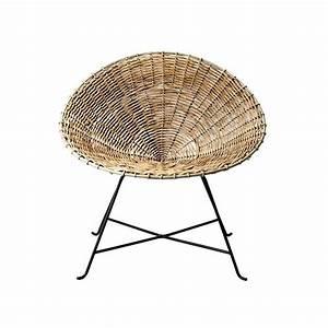 Fauteuil Rotin Rond : fauteuil rond en rotin fauteuil acapulco bloomingville ~ Dode.kayakingforconservation.com Idées de Décoration