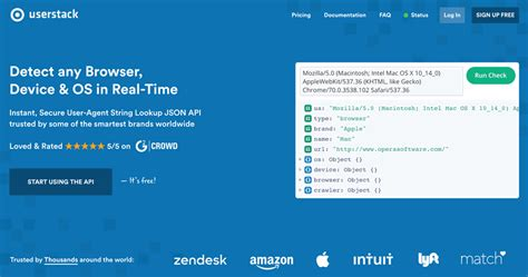 api agent user parse any scalable cloud based delivers detect brought os browser device start using programmableweb