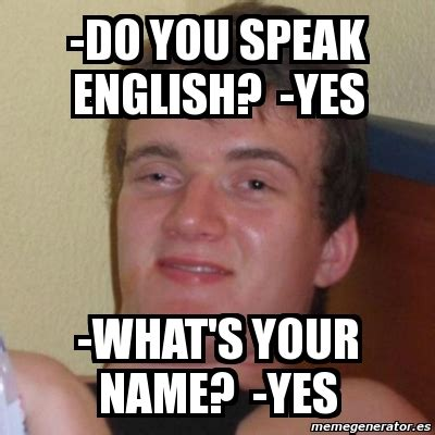 English Meme - memes in english