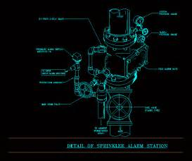 Sprinkler Alarm Station Dwg Detail For Autocad  U2013 Designs Cad
