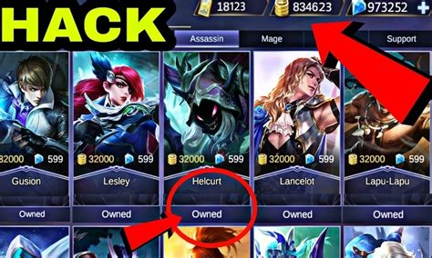 mobile legend hack apk free mobile legends mod apk hack apk for android