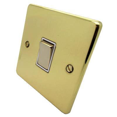 low profile light switch low profile rounded polished brass socket switches