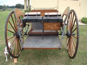 Meadow Brook Horse Cart W  Hydraulic Brakes T Stand  84