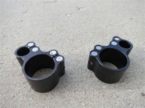 Buy 46mm Convertibars Cyclops Handlebar Clip On Clamps Black Motorcycle In Parker, Colorado, Us
