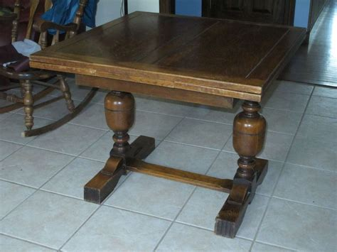 wood dining tables for antique oak draw leaf pub dining table 1930