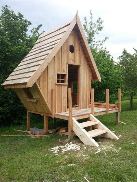 construction dune cabane en bois pour mes enfants