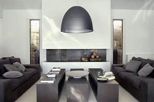 Idees Deco Salon : 10 id es d co pour un salon contemporain d coration maison ~ Melissatoandfro.com Idées de Décoration