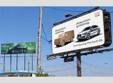 Billboard Wars Round Two Audi vs MercedesBenz