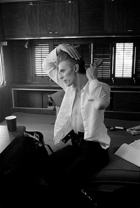 Steve Schapiro Bowie - Rare Photos of David Bowie by