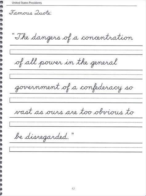 math worksheet 44 united states presidents character writing worksheets dnealian cursive