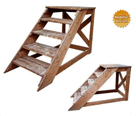 meuble classeur de bureau escabeau d atelier en bois