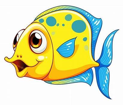 Fish Clipart Smiling Cartoon Clip Transparent Aquarium
