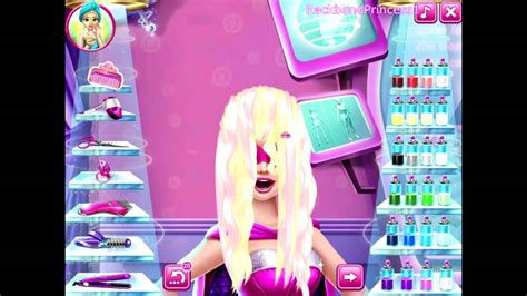 Barbie Hair Salon Games For Kids
