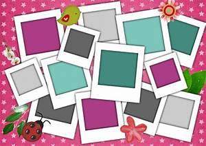 Faire Un Pele Mele : pele mele photo gratuit a imprimer ~ Mglfilm.com Idées de Décoration
