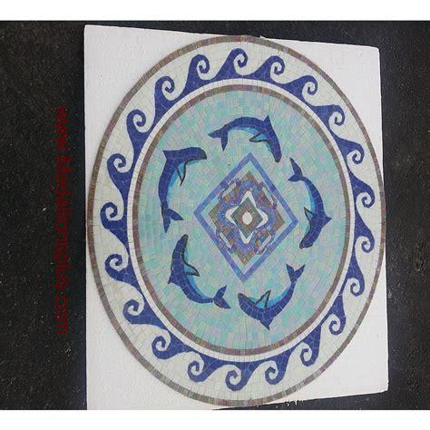 Round Mosaics   Design 36   MedallionsPlus.com   Floor