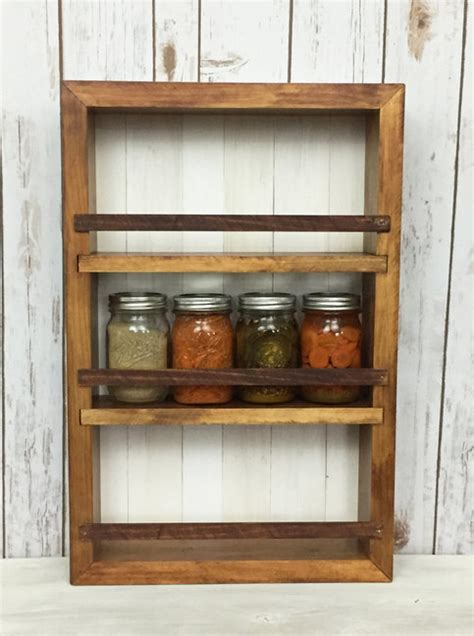 spice rack kitchen cabinet kitchen wall decor mason jar