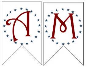 at second america banner free printable