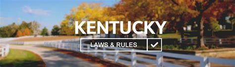 kentucky aaa digest of motor laws