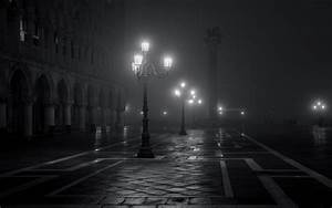 Night street lights rain lamp wallpaper | 1920x1200 ...