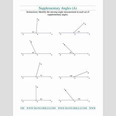 Supplementary Angles (a