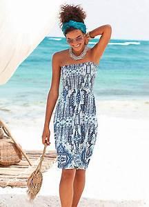 Buffalo London Printed Beach Dress | Curvissa