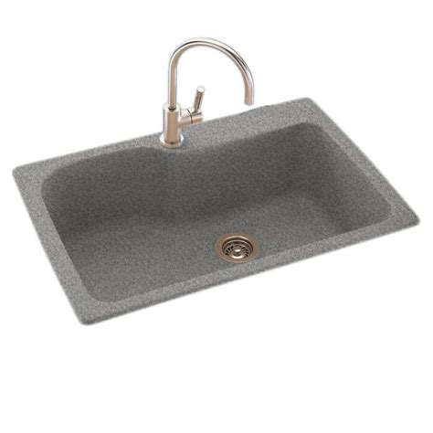 solid surface kitchen sink swan drop in undermount solid surface 33 in 1 single