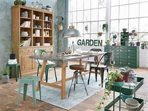 Table De Cuisine Maison Du Monde : inspirations pour une d co vert meraude joli place ~ Teatrodelosmanantiales.com Idées de Décoration