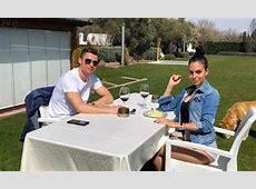 Real Madrid star Cristiano Ronaldo enjoys alfresco dining