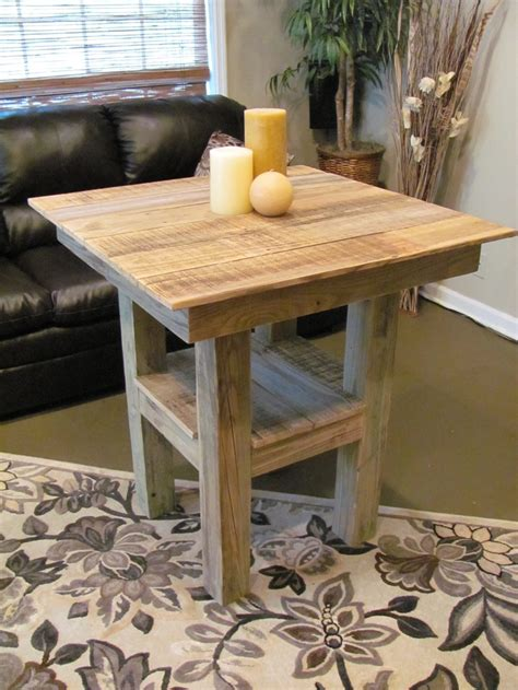 building bar height table woodworking projects plans