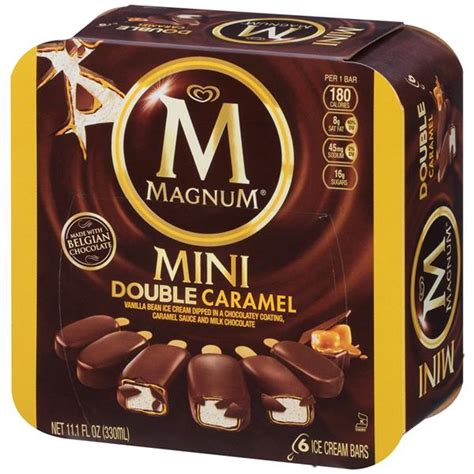 Magnum Mini Double Caramel Ice Cream Bars 6Ct | Hy-Vee ...