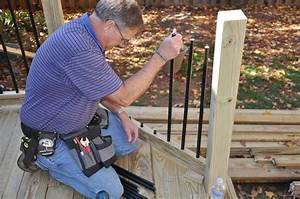 How To Install Deck Rail Balusters