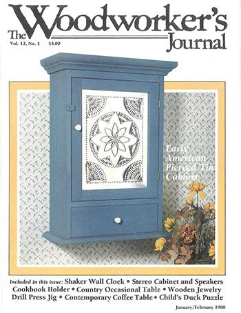 woodworkers journal januaryfebruary  woodworking
