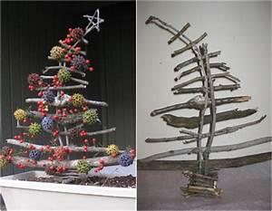 Sticks 10 Adorable DIY Wooden Christmas Tree Ideas