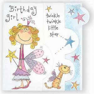 Happy Birthday Fairy Girl Card - Partyware & Essentials ...