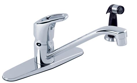 Gerber Viper Kitchen Faucet by Gerber 174 Hardwater Single Handle Kitchen Faucet With Spray