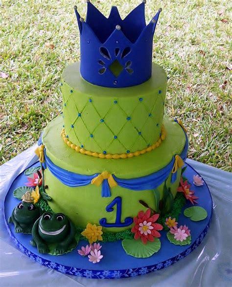 princess frog theme birthday cake cakecentralcom