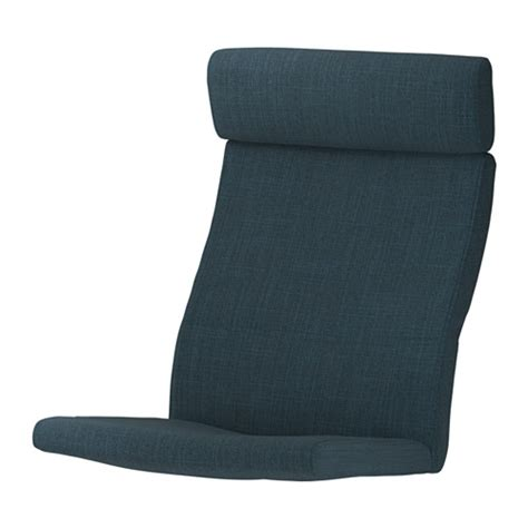 poang chair cushion blue po 196 ng chair cushion hillared blue ikea