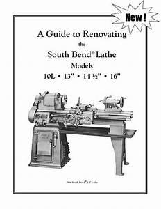 New South Bend Lathe Rebuild Manual