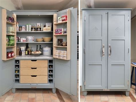 freestanding pantry cabinet wood unfinished cabinet