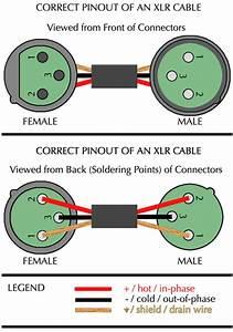 Male Xlr Wiring Diagram