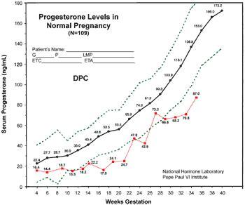 progesterone support  pregnancy