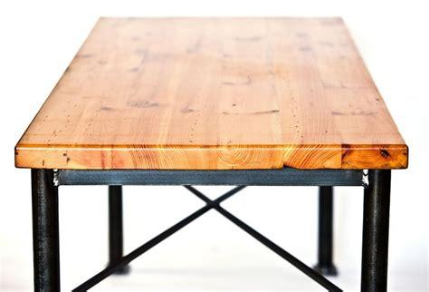 reclaimed wood and metal furniture custom made metal and reclaimed wood dining table by Reclaimed Wood And Metal Furniture