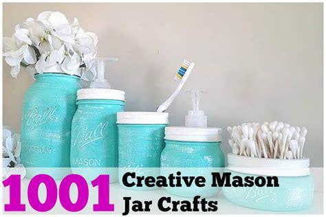 1001 Diy Mason Jar Crafts Diy Cozy Home