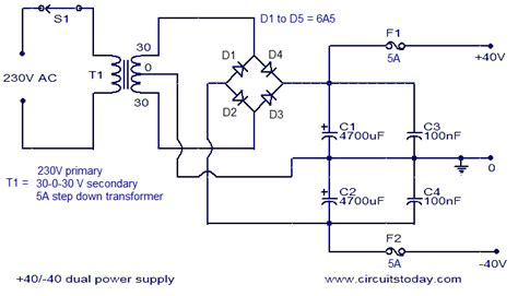 Stk Amplifier Circuit Diagram Images