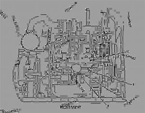 2737082 Wiring Group-engine -refrigerant Compressor