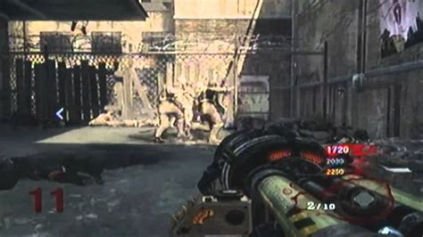 black ops zombie thunder gun rampage youtube