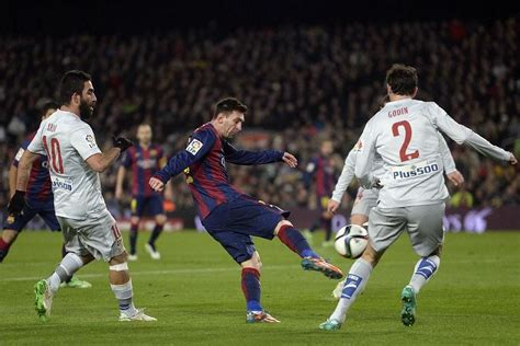 Stats: Lionel Messi's scoring record for Barcelona against ...