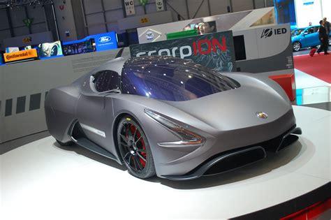 abarth scorpion  electric car   sting   tail